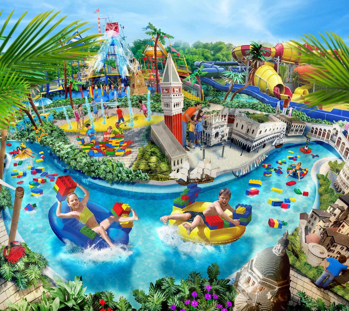 Legoland Water Park Gardaland will be the first Legoland Water Park to open in a non-Legoland destination