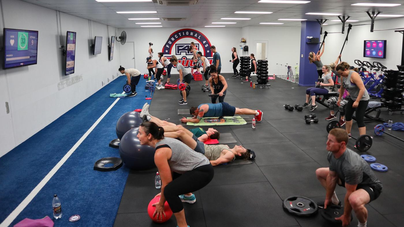 The deal will see Mindbody's integrated software and payments platform used across all of F45's studio operations globally / F45
