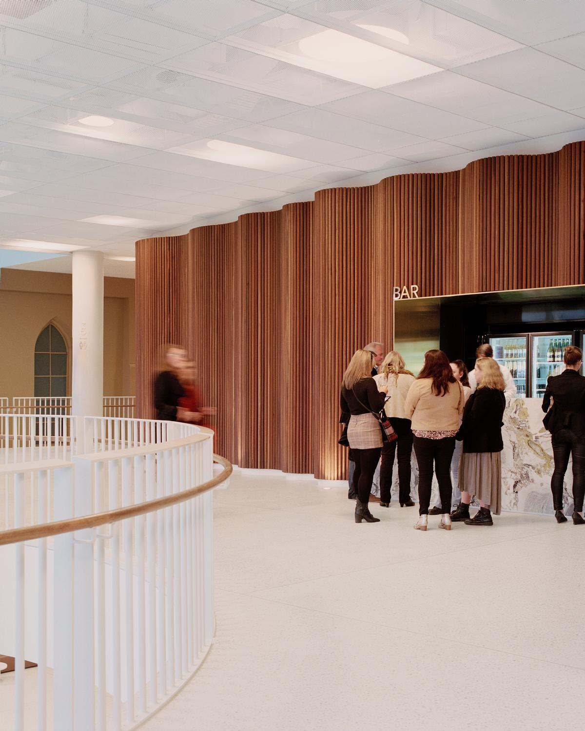 New communal spaces include a split-level foyer and a bar area / Rory Gardiner