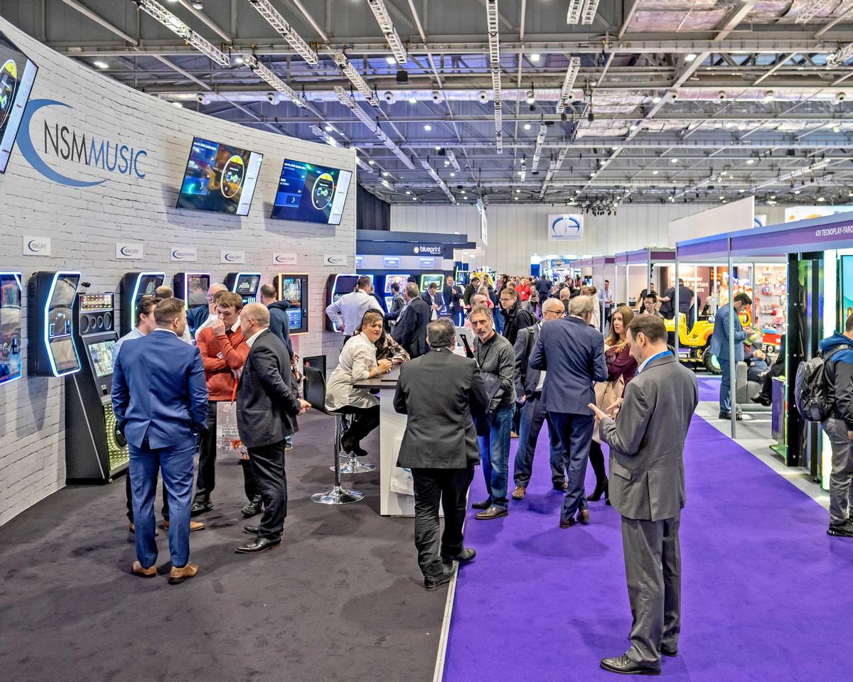 Cashless payments and immersive experience were a strong feature of EAG