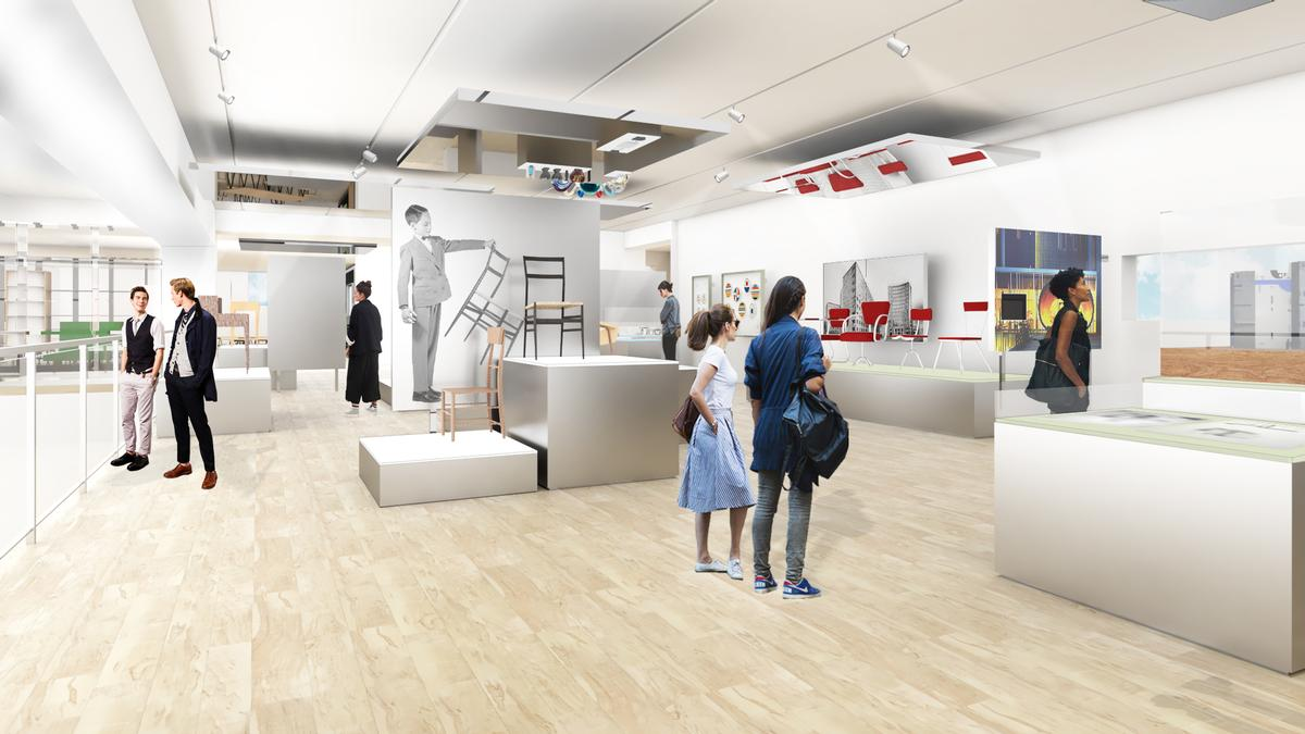 The work is part of a project to update elements of the museum and to reunify its campus / OMA