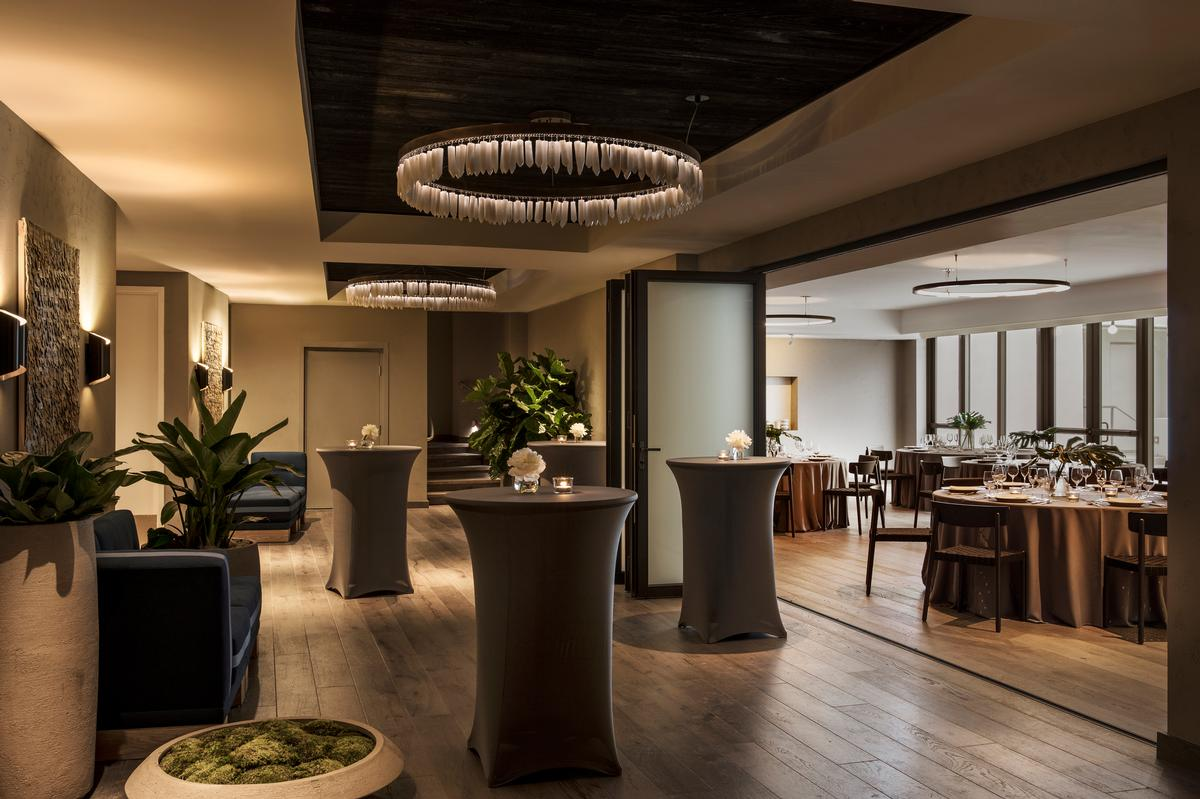 The creation of a new pre-function reception space was part of the work