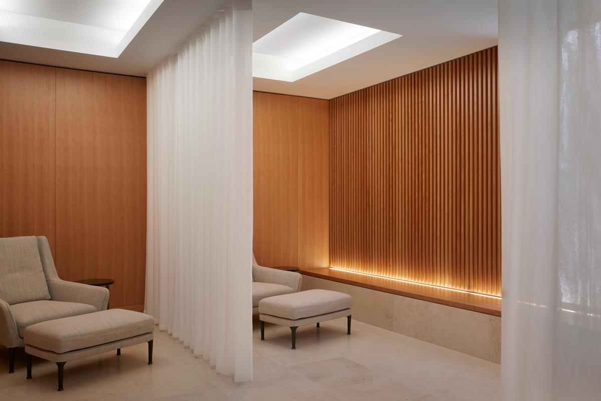 Nulty designed the lighting scheme for The Wellness Clinic at Harrods / Jack Hobhouse