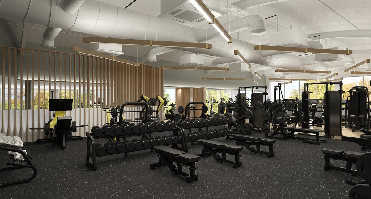 Exercise zones have been reconfigured to improve the journey for members through the club / Zynk