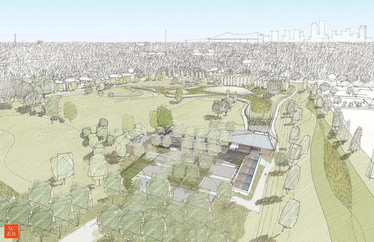 New Orleans' Mirabeau Water Garden will be a community amenity that manages stormwater
