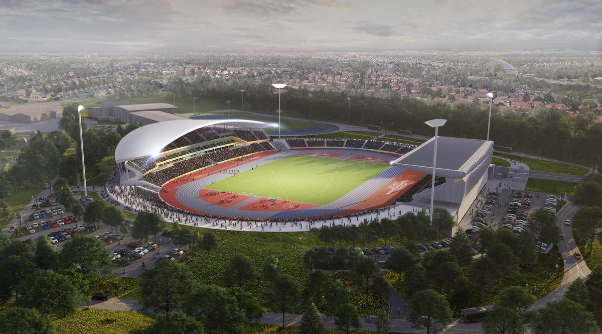 £72m Alexander Stadium revamp approved for 2022 Commonwealth Games