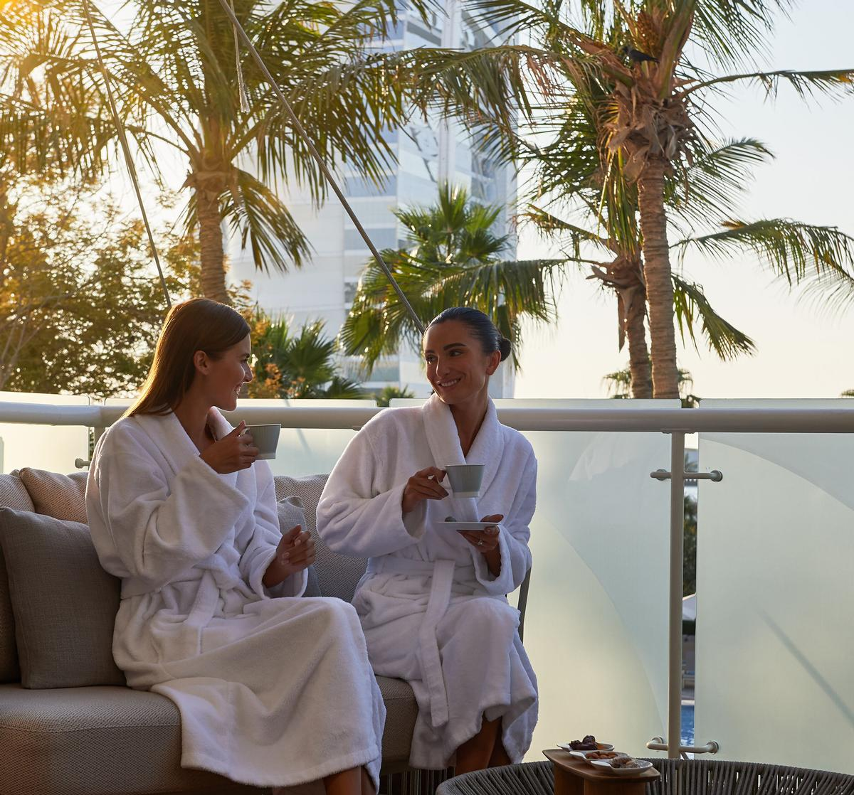 The spa offers massages and facials, as well as cryotherapy treatments
