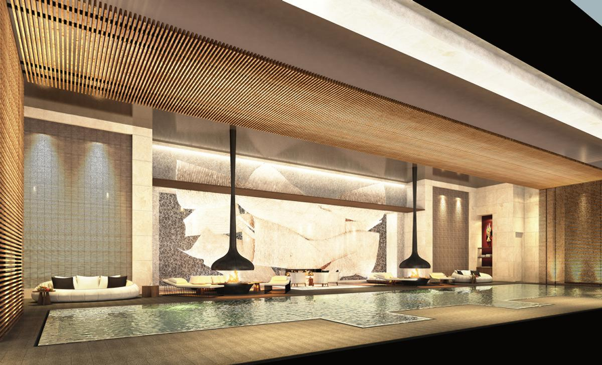 Gathy has created the design for the upcoming Four Seasons hotel in Japan.