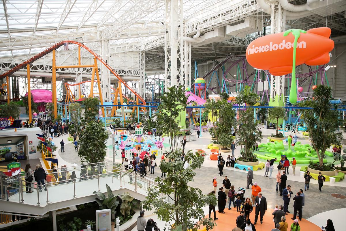 The destination covers 3,000,000 sq ft (280,000sq m), with over 450 stores and 15 attractions / Angela Pham, courtesy of American Dream