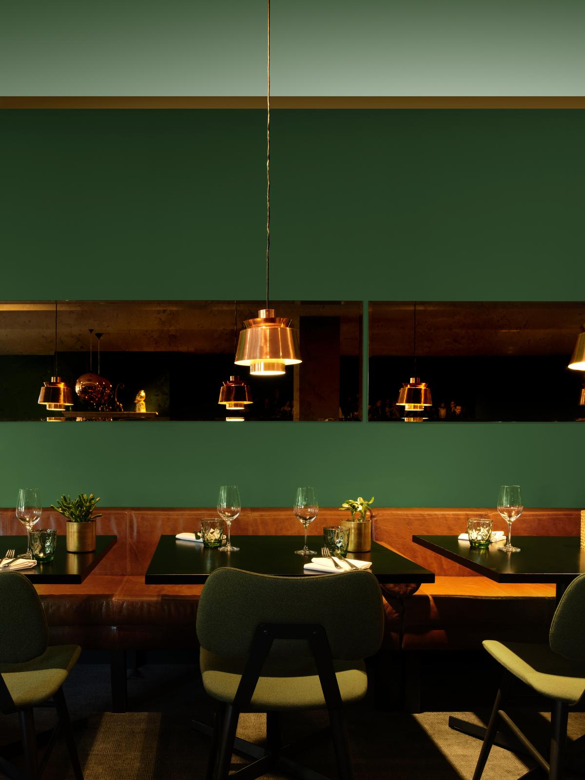 Colour can be used to stimulate appetite in the restaurant, says Shillingford