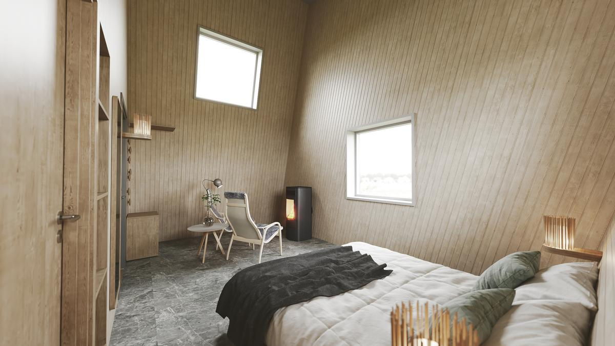 The cabin interiors were designed by AnnKathrin Lundqvist and Input Interior