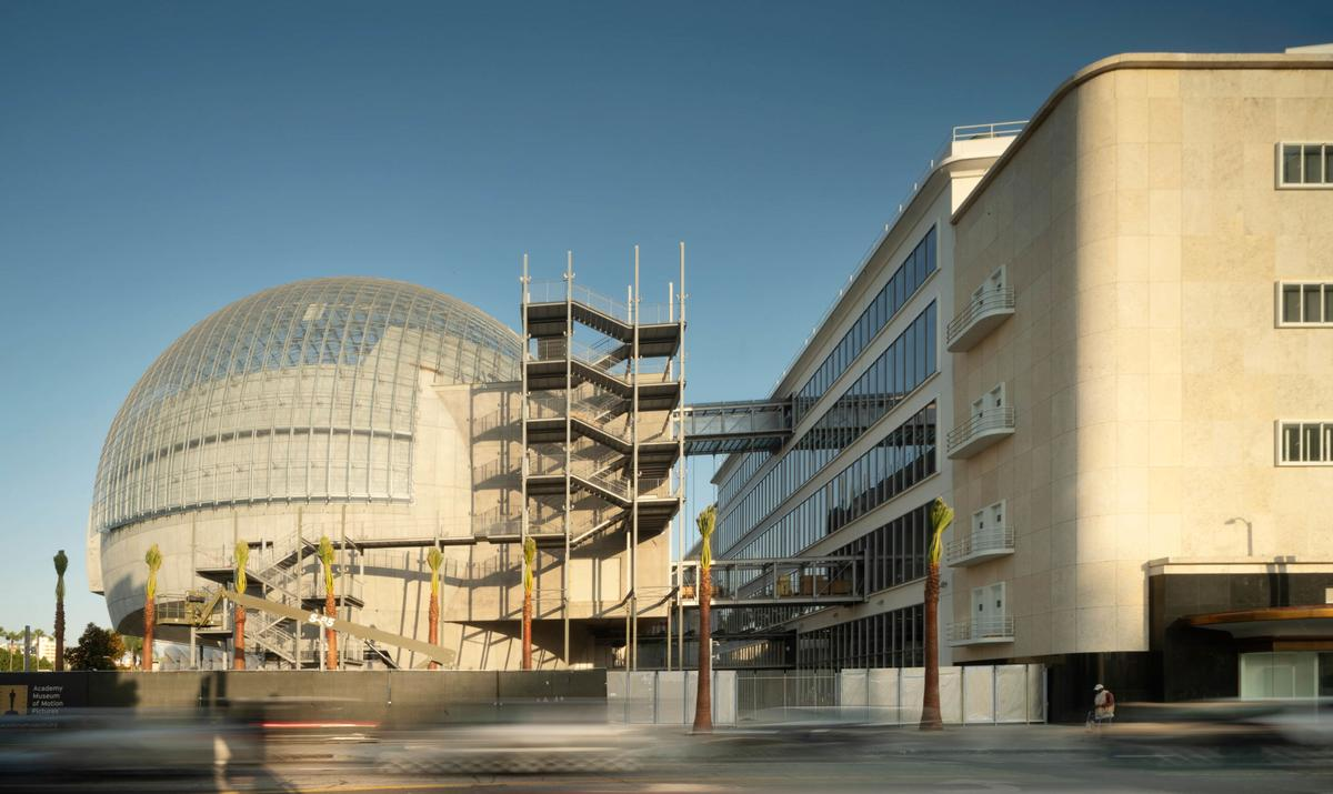 The museum will be dedicated to the art, science, craft, business and history of film / Renzo Piano Building Workshop