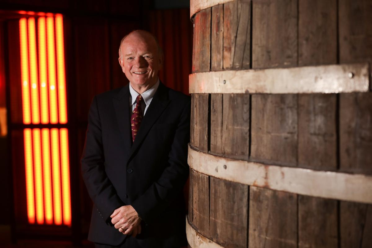 Paul Carty has been managing director of the Guinness Storehouse since its inception in 2002