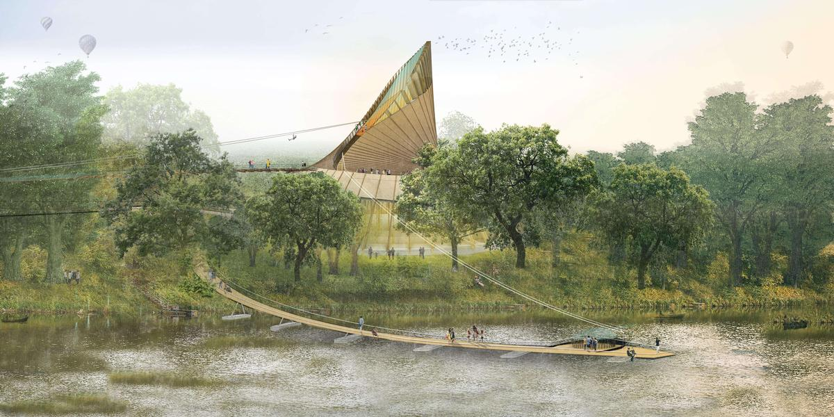Initial concept designs for the Eden Project Foyle have been completed by Grimshaw Architects / Grimshaw Architects