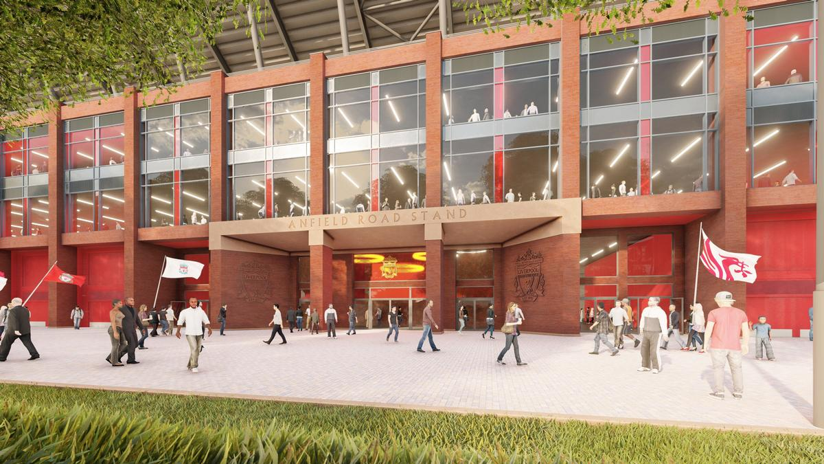New seats, lounges and hospitality facilities will be added as part of the work / Liverpool FC