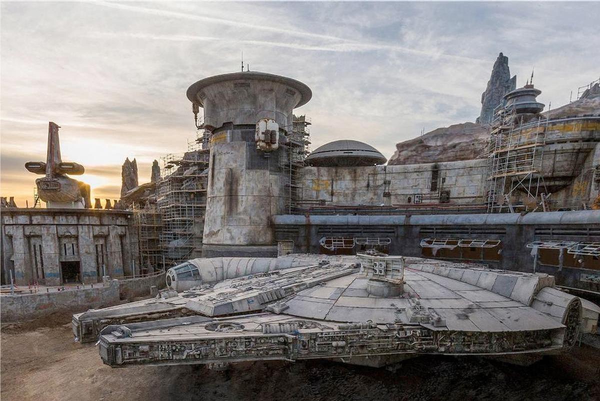 Star Wars: Galaxy's Edge opened at Disneyland, California last year