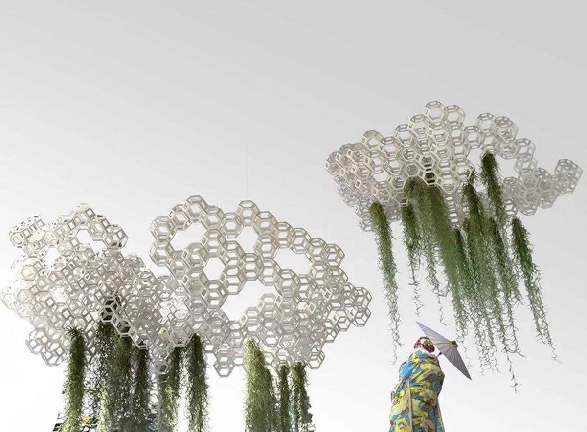 XTU's X Cloud concept is part of the <I>Future and the Arts: AI, Robotic, Cities, Life - How Humanity Will Live Tomorrow</i> exhibition at the Mori Art Museum in Tokyo