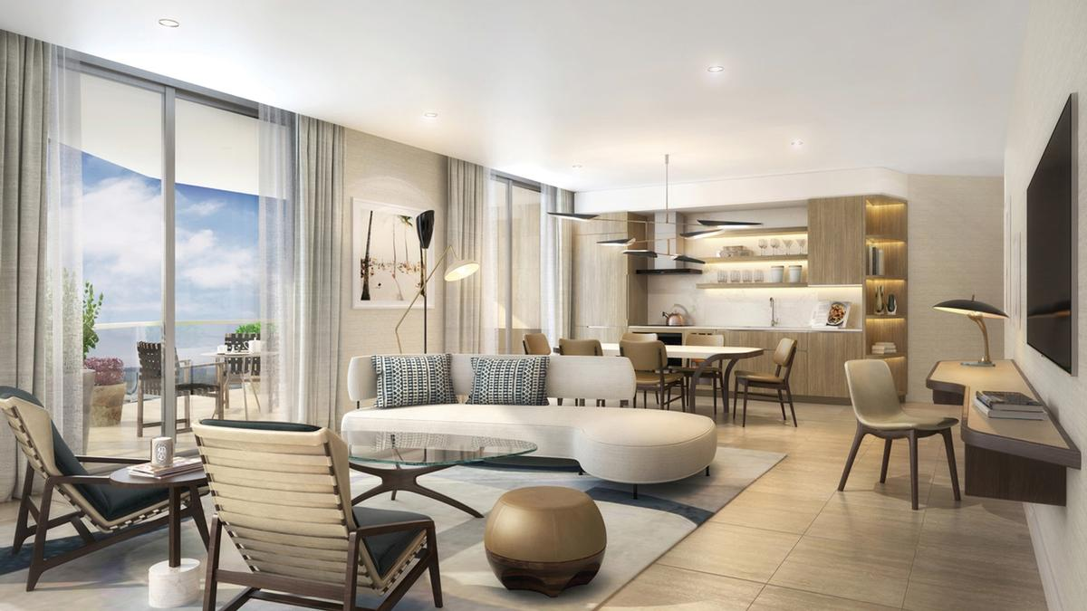 The Four Seasons Hotel and Private Residences Fort Lauderdale development will comprise 148 guest rooms and 83 private residences / Four Seasons