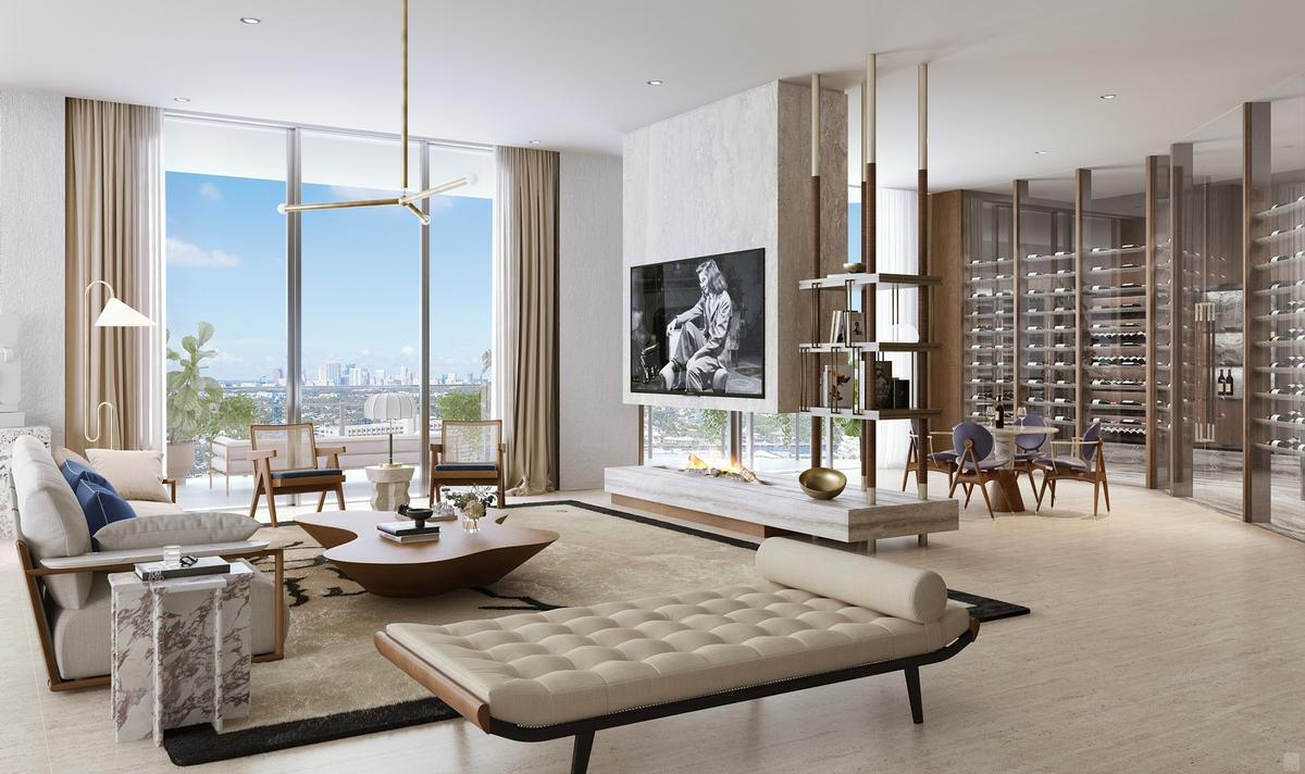It will provide nearly 19,000sq ft (1,800sq m) of indoor and outdoor space / Four Seasons
