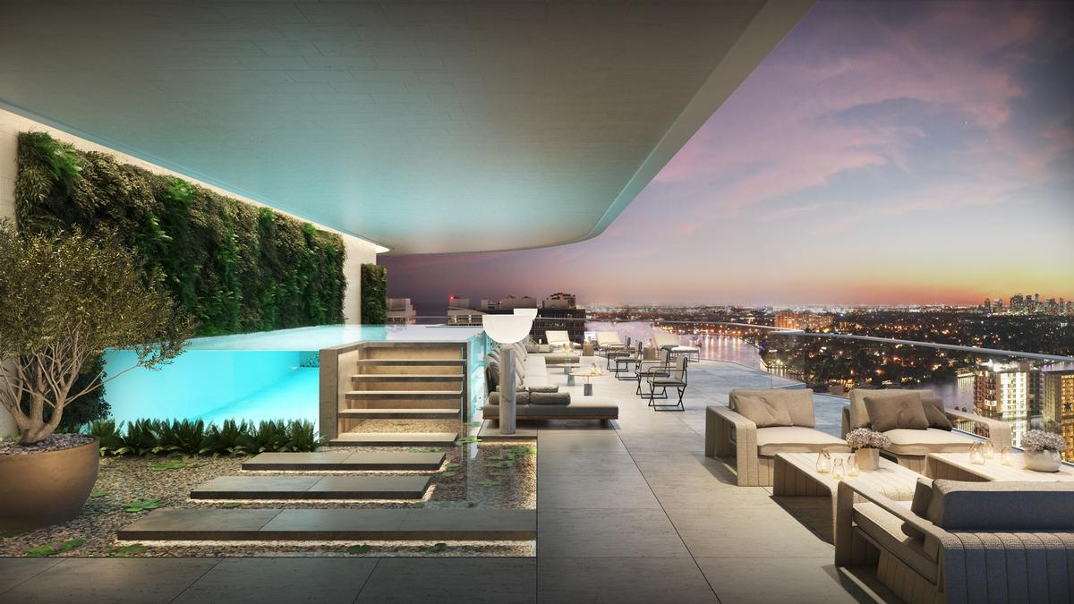 The so-called SkyHome will feature a 7,000sq ft (650sq m) private rooftop park / Four Seasons