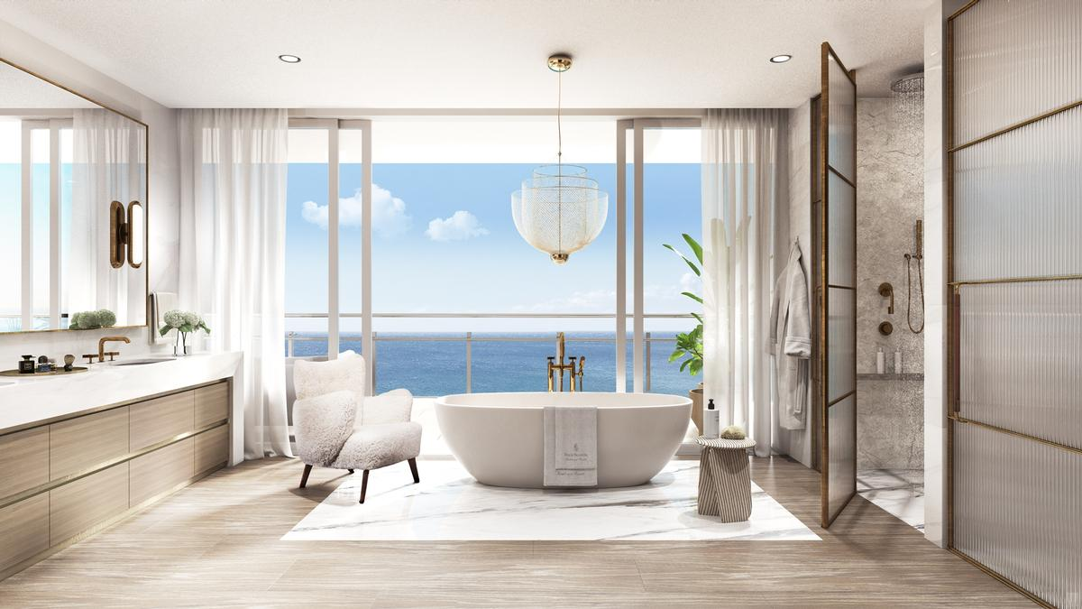 The owners will also have access to Four Seasons' services, such as a beach butler, yachting services and a pet concierge / Four Seasons