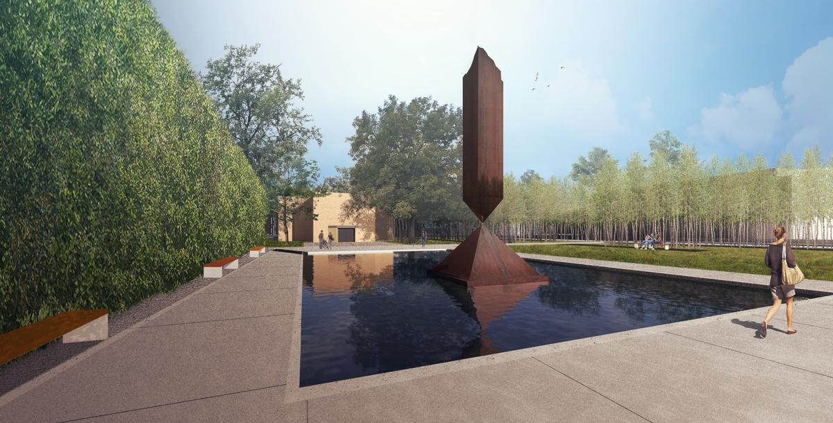 The Opening Spaces masterplan will improve the visitor experience of the chapel and its grounds / Nelson Byrd Woltz Landscape Architects