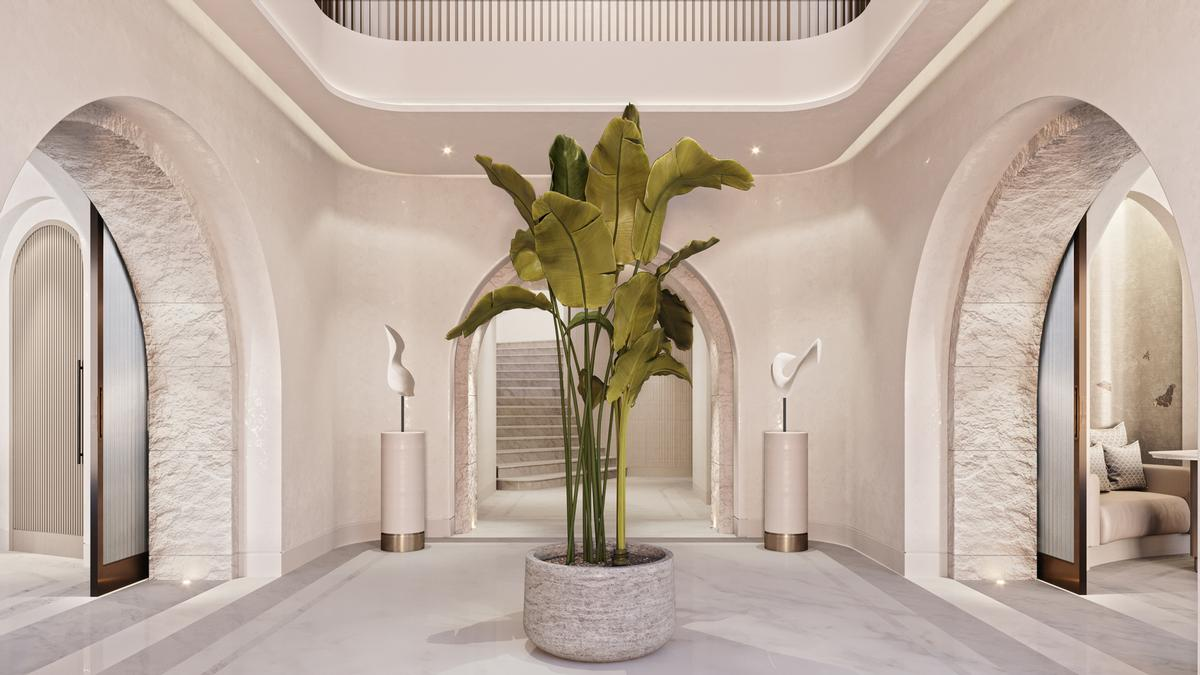 The interiors of the 2,000sq m Meditteranean-inspired spa have been created by interior designers Goddard Littard