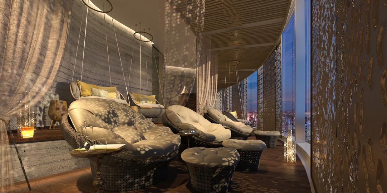 Guests also have access to wellness activities including private fitness yoga, meditation and stretching sessions