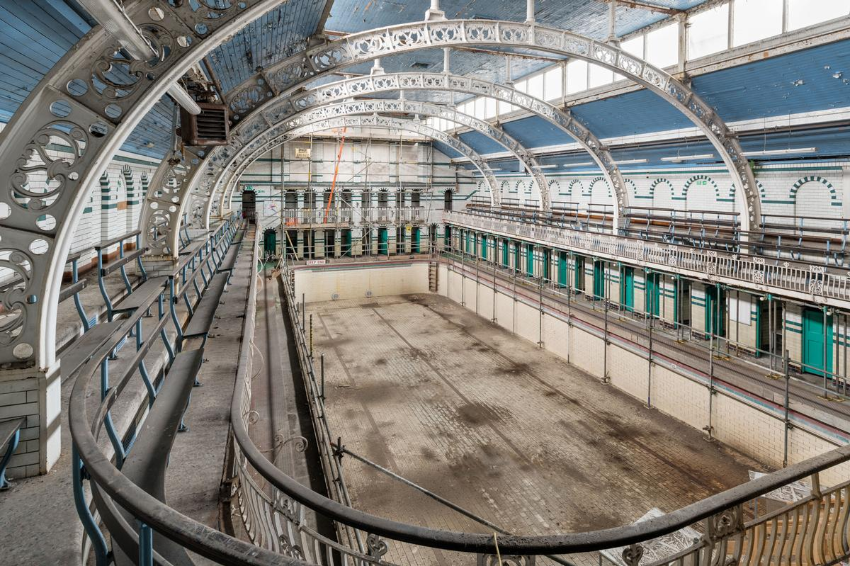 The Gala Pool had been closed to the public since 2003