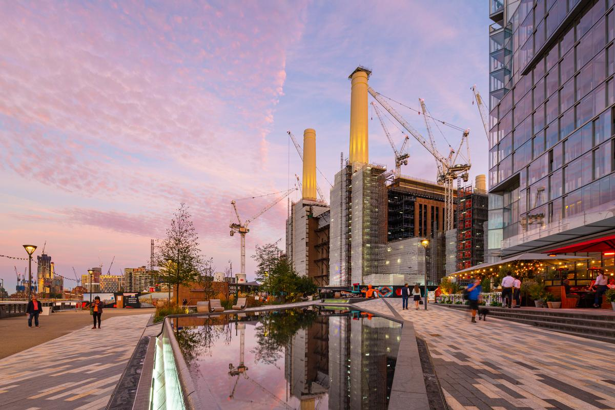 It will form part of Battersea Power Station's second phase of redevelopment
