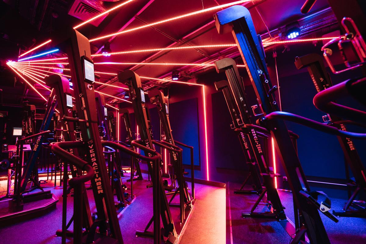 A Versaclimber-based Cardio Studio will cater for low-impact workouts
