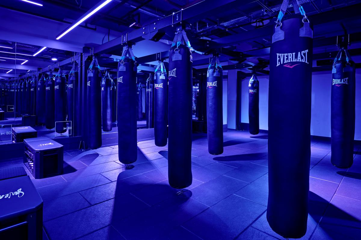 A Skills studio will be used for teaching and developing boxing technique