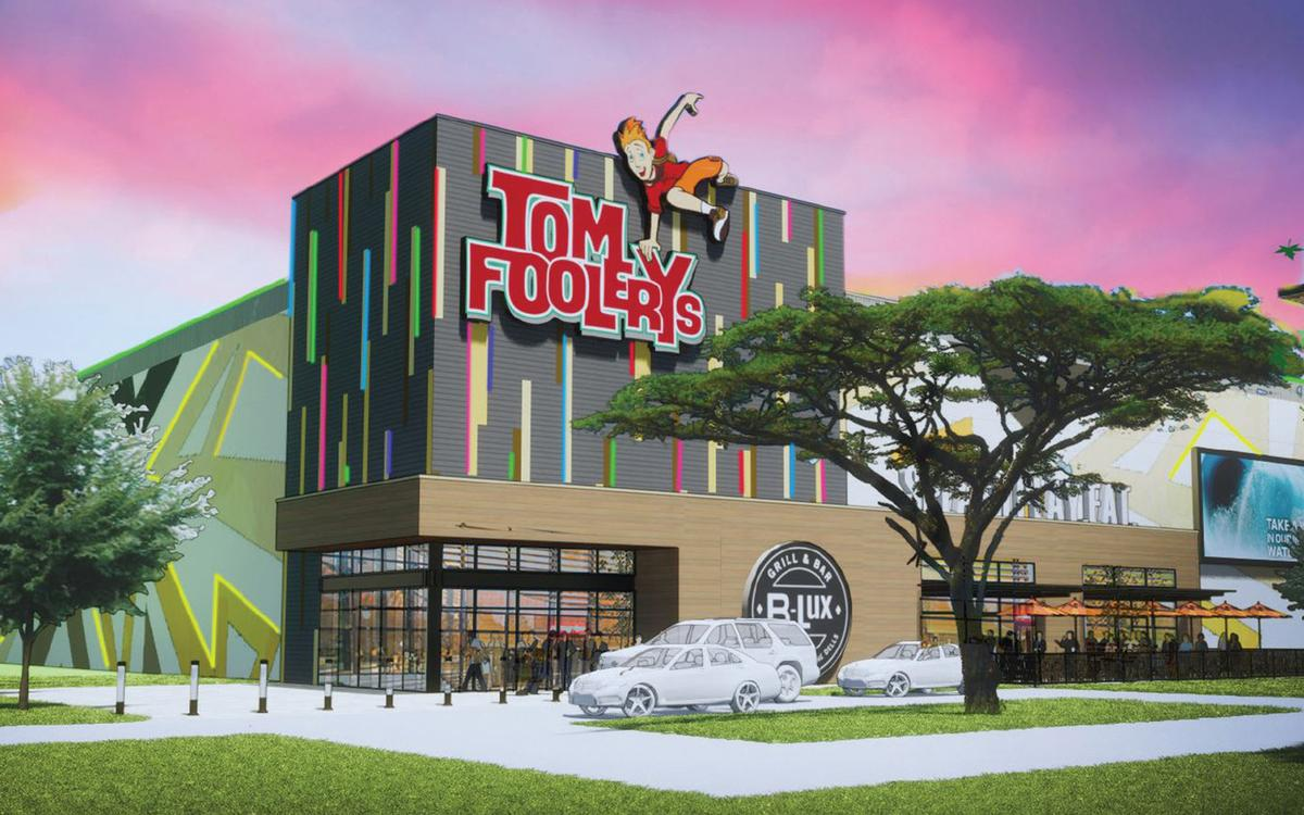 Tom Foolery's Adventure Park contains 80,000sq ft of rides and activities