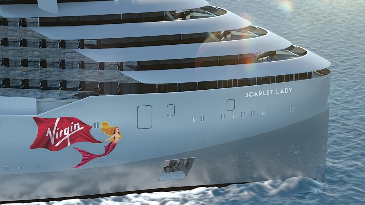Cabins and amenities are spread across 17 decks / Virgin Voyages