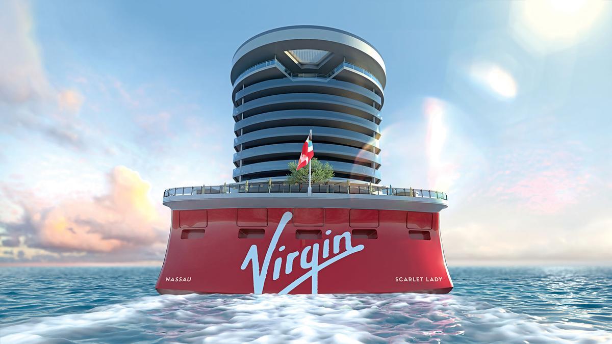 Scarlet Lady uses 4,800kW of power / Virgin Voyages