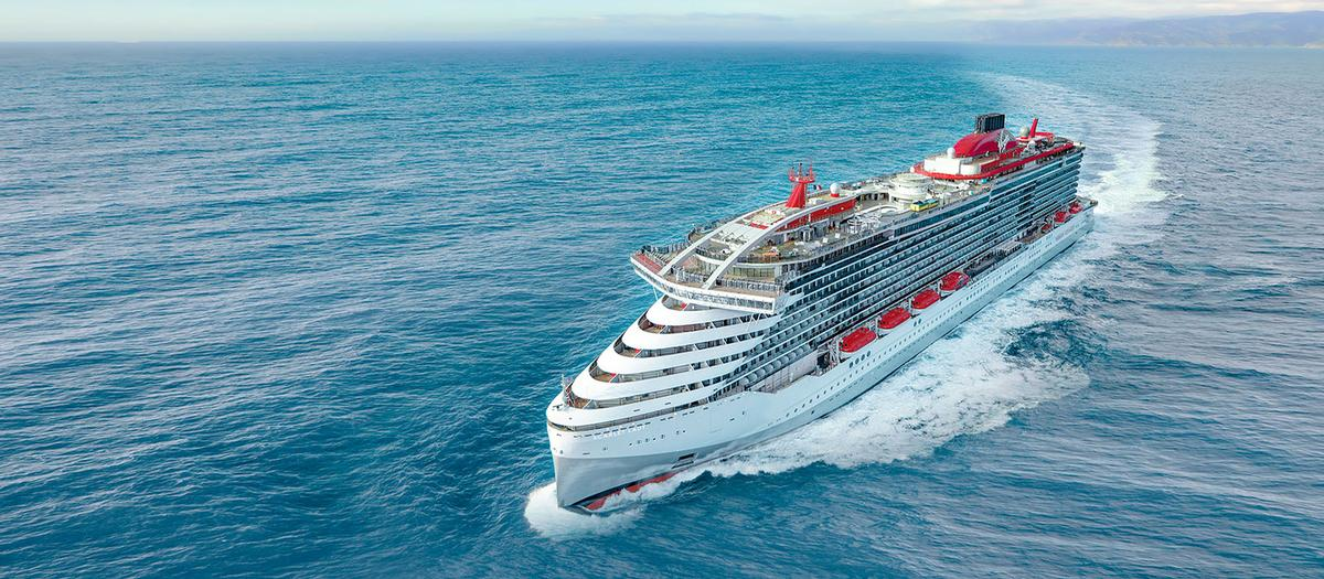 Scarlet Lady will set sail in March 2020 with more than 2,770 guests and 1,150 crew on board / Virgin Voyages