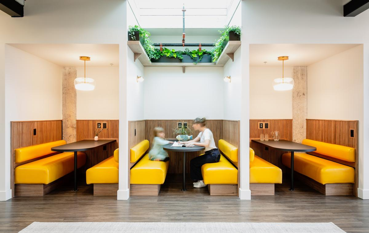 It was founded to evolve and expand what a co-working space could be / James Jones
