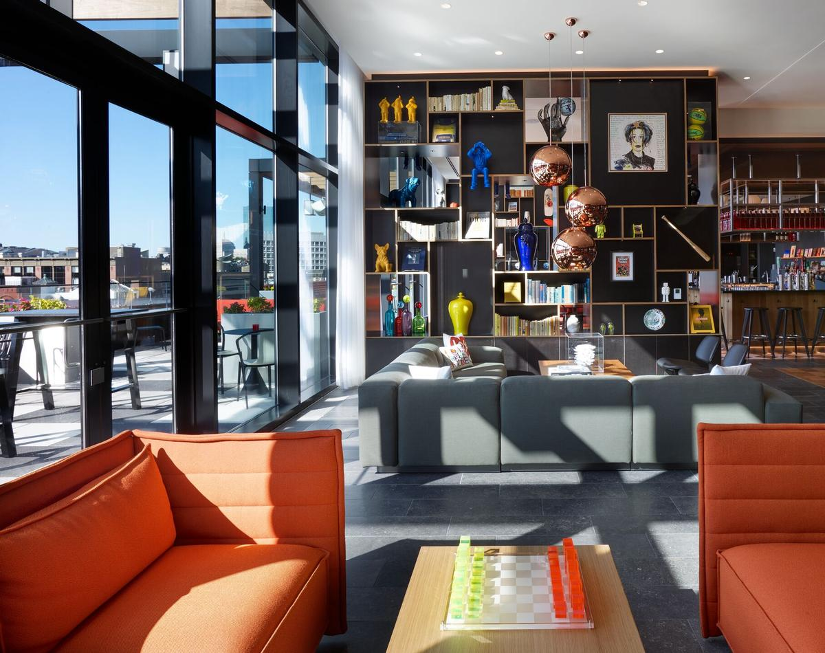 citizenM Pioneer Square will be filled with feature contemporary art and