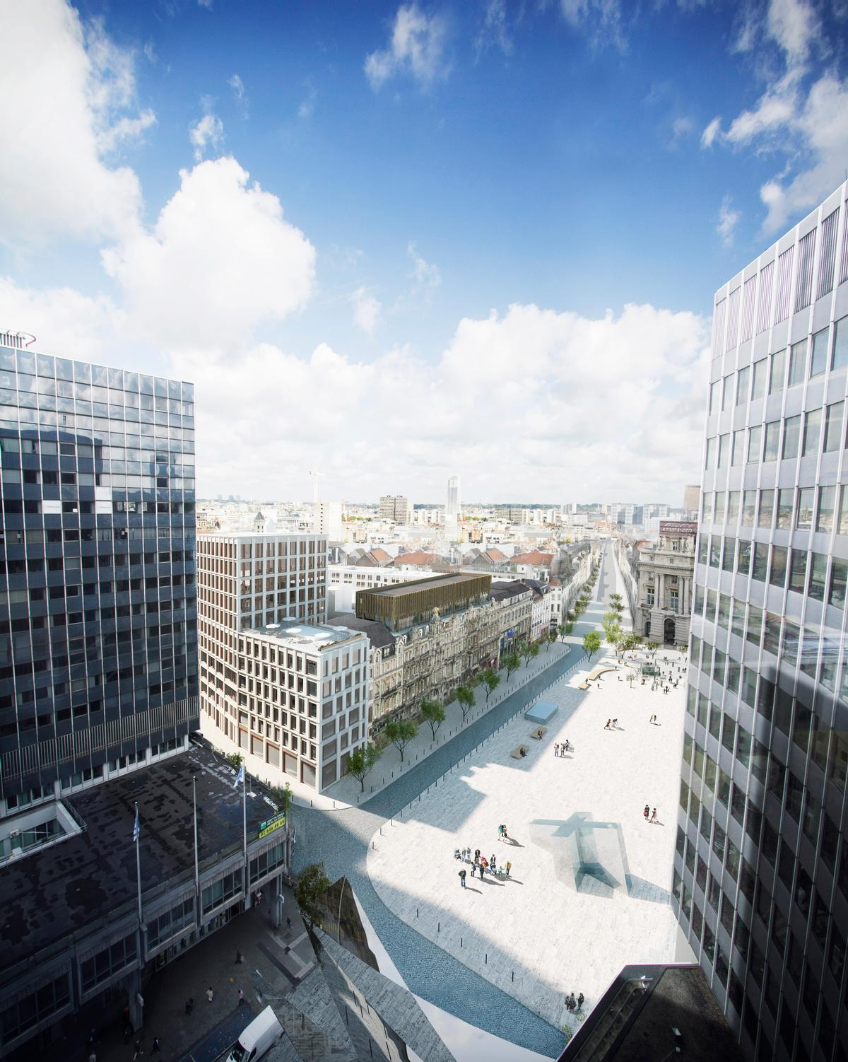 The development will cover an area of 48,000sq m (517,000sq ft) / Henning Larsen