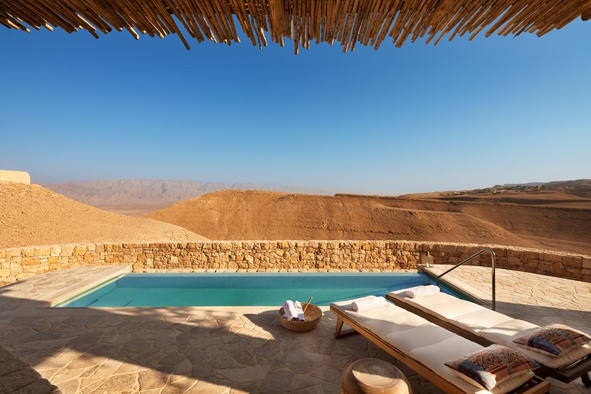 The upcoming destination is located in the Negev Desert