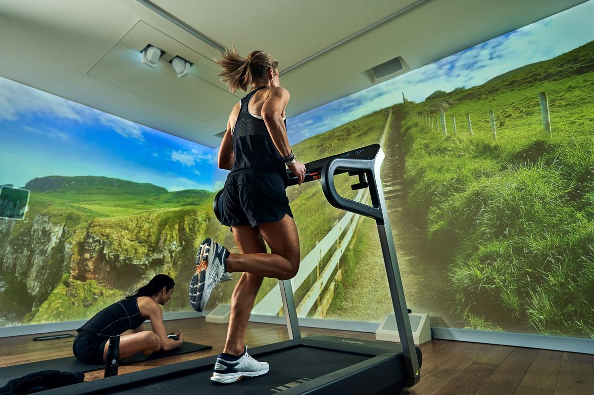 Immersive Gym plans, designs and delivers tech-augmented fitness spaces and gyms