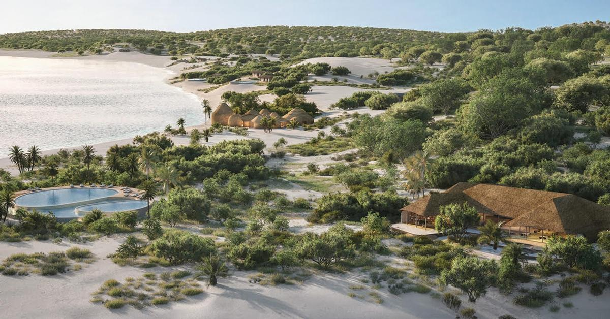 Kisawa will be set across 300-hectares of private sanctuary beach, forest and sand dunes