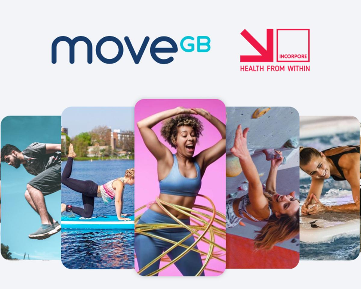 The partnership with Incorpore will seeMoveGB's entire network of fitness classes be included in Incorpore's MyGymDiscounts scheme