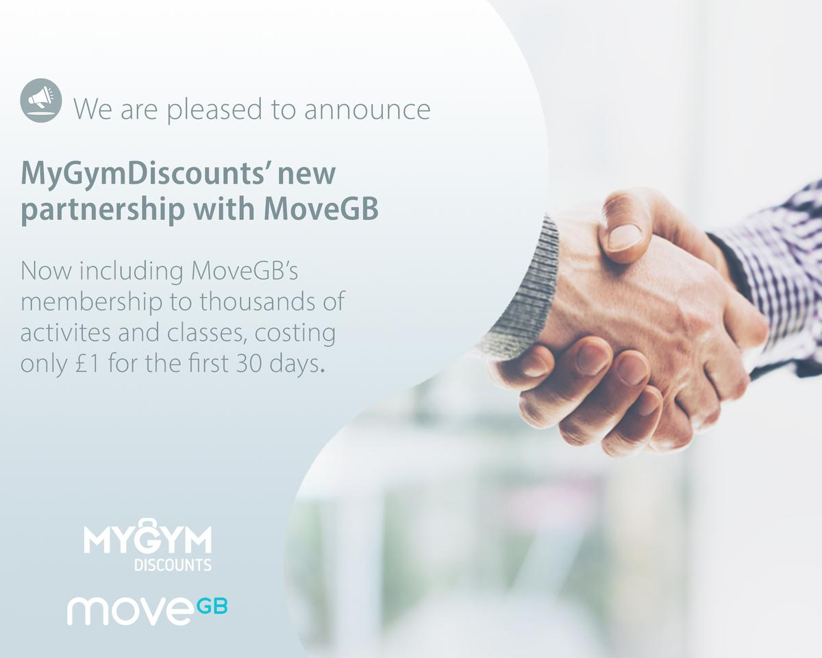 MoveGB's membership to thousands of activities and classes is included as an option within Incorpore's MyGymDiscounts scheme