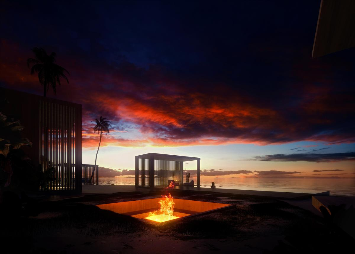 The resort is aimed at helping guests to develop a deeper connection with nature / Luxigon