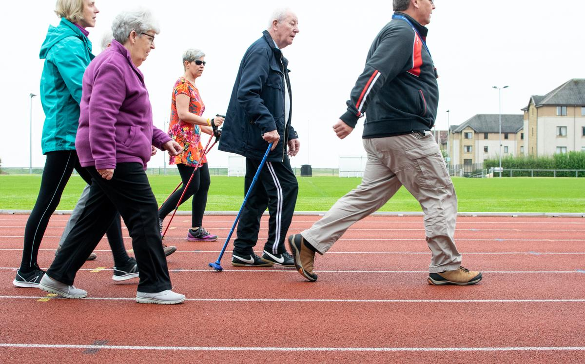 The First Steps programme will provide regular physical activity sessions for residents / Sport Aberdeen
