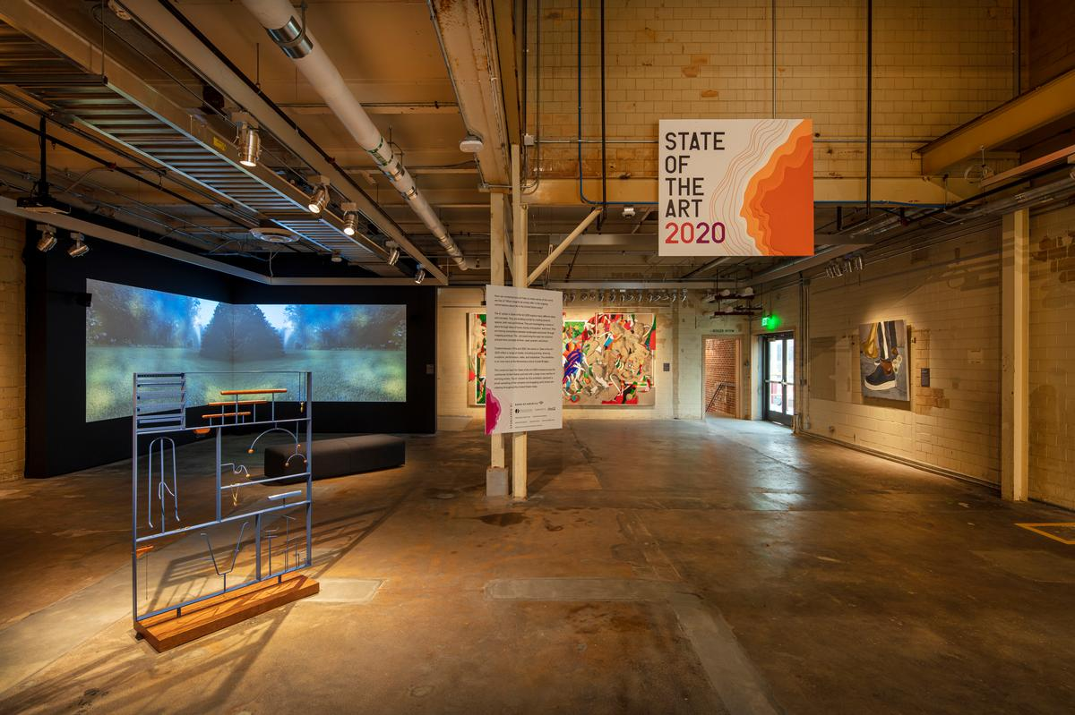 The centre also features a multidisciplinary performance space and a black box theatre / Dero Sanford