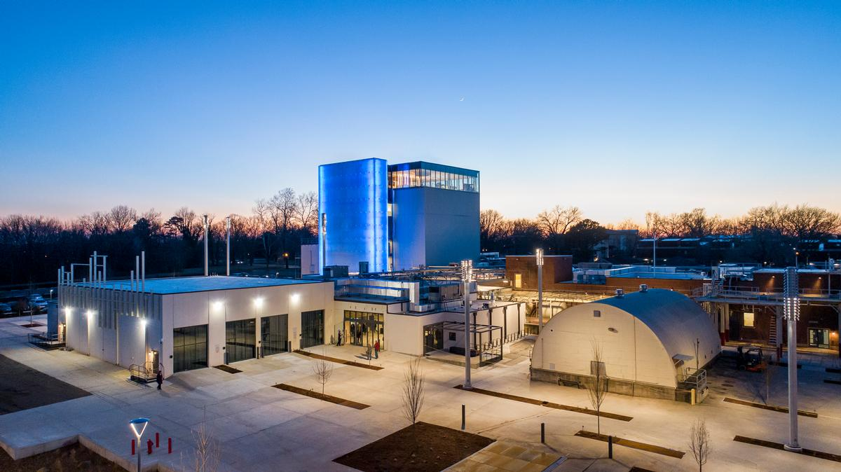 The facility covers an area of 63,000sq ft (5,900sq m) / Dero Sanford