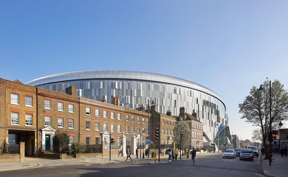 The new stadium was designed to create a sense of arrival for fans / Photo: ©Hufton+Crow
