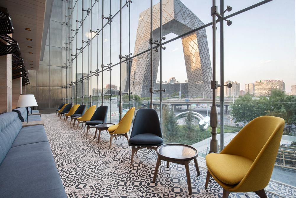 Shangri-La brand Hotel Jen looks over Beijing's skyline / PHOTO: WHAT THE FOX STUDIO